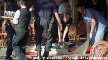 Frankreich Anschlag in Paris 1995
