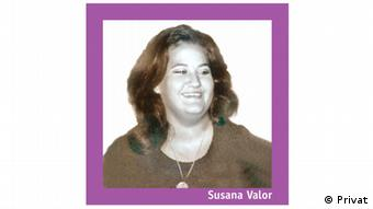 Susana Valor, Omar Marocchi's girlfriend