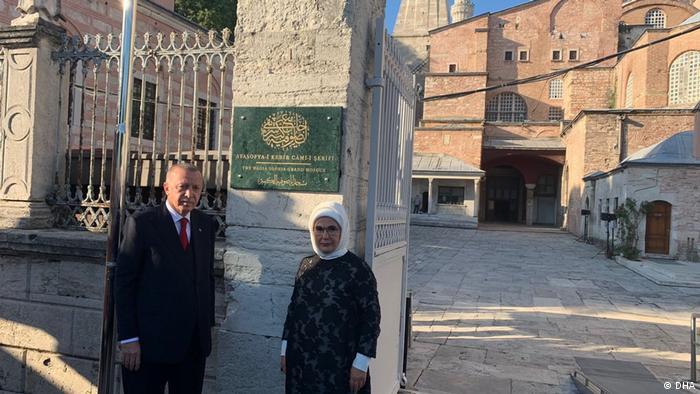 Türkei Erdogan Hagia Sophia