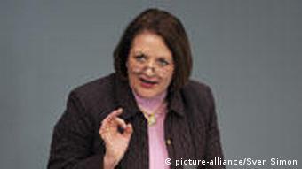 Justice Minister Sabine Leutheusser-Schnarrenberger