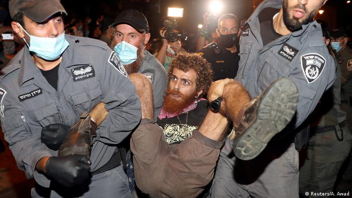 Israel Protest gegen Netanjahu (Reuters/A. Awad)