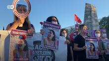 Videostill von DW Proteste wegen Frauenmord in der Türkei