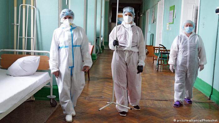 Ukraine Ivano-Frankivsk | Medizinisches Personal im Ivano-Frankivsk Krankenhaus