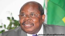 Ehemaliger tansanische Präsident Benjamin Mkapa