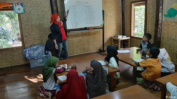 Indonesien Stern für Lombok