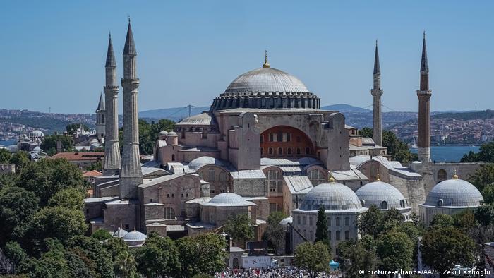 Hagia Sophia in Turkey (picture-alliance/AA/S. Zeki Fazlioglu)