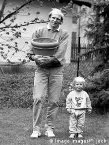 Dieter Hoeness and his son Sebastian