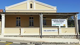 Sede del Instituto Goethe en la calle Fidel Castro, de Windhoek, Namibia
