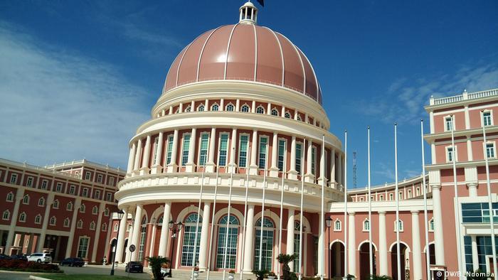 Assembleia Nacional de Angola, em Luanda.