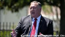 July 23, 2020, Los Angeles, California, U.S: U.S. Secretary of State MIKE POMPEO speaks during a panel after delivered a speech on Communist China and the future of the free world at Nixon's presidential library. The U.S. has ordered the Chinese consulate in Houston, Texas to close by tomorrow. Pompeo told reporters that the decision comes amid China's ''stealing'' of intellectual property. The Chinese foreign ministry condemned the closing and said that its embassy in Washington had received death threats. (Credit Image: © Ringo Chiu/ZUMA Wire |