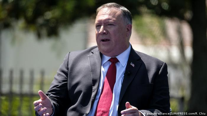 USA Mike Pompeo (picture-alliance/ZUMAPRESS.com/R. Chiu)