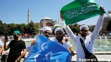 Türkei Freitagsgebet Hagia Sophia