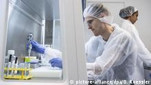 Deutschland Frankfurt a.M. Flughafen   Coronavirus   Test