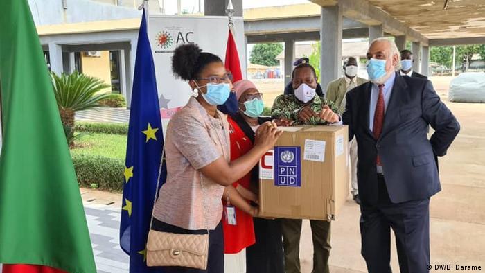 Guinea-Bissau | Coronavirus | EU-Hilfe (DW/B. Darame)