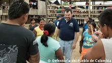 Kolumbien Bürgerbeauftragter und Ombudsmann Carlos Negret