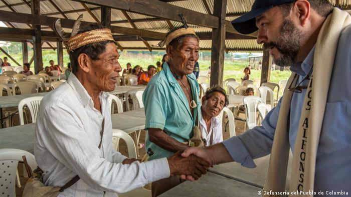 Kolumbien Bürgerbeauftragter und Ombudsmann Carlos Negret (Defensoría del Pueblo de Colombia)