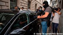 Frankreich Besancon | Ankunft Nicolas Zepeda, Auslieferung aus Chile