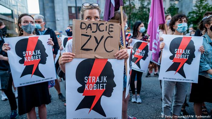 Women's protests in Poland