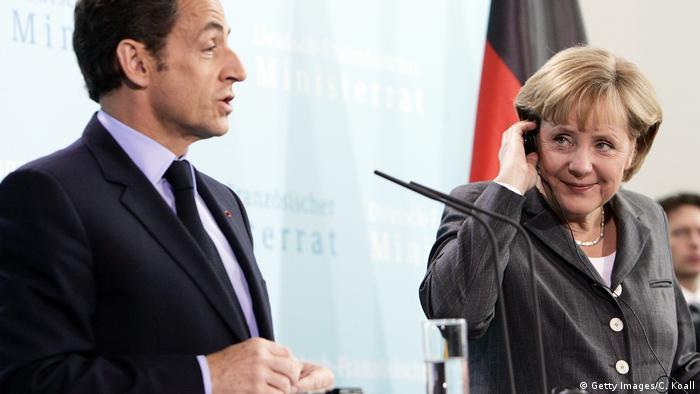 Nicolas Sarkozy und Angela Merkel I Merkozy