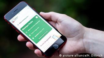 Немецкое приложение Corona Warn-App для отслеживания распространения коронавируса