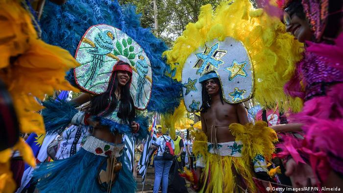 Під час карнавалу в Сан-Паулу, лютий 2020 року
