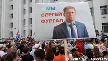 Russland Chabarowsk | Solidarität mit Sergej Furgal, Gouverneur