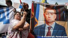 Russland Chabarowsk   Solidarität mit Sergej Furgal, Gouverneur