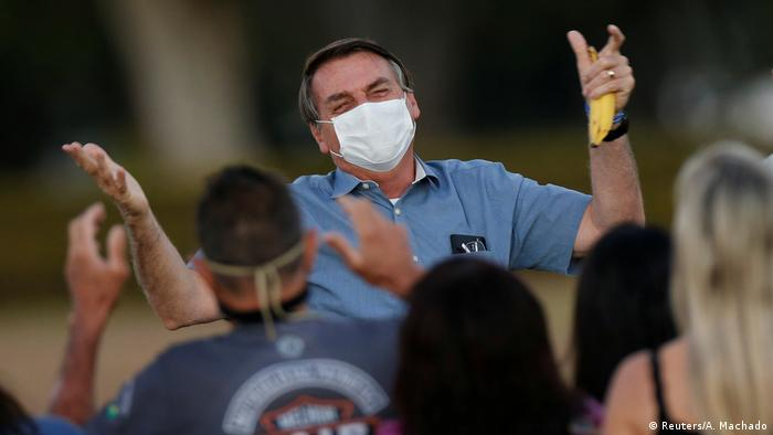 Brasilien Jair Bolsonaro (Reuters/A. Machado)