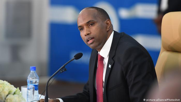 Hassan Ali Khaire, primeiro-ministro destituído na Somália