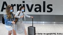 Großbritannien I Coronavirus I Quarantäne für Touristen