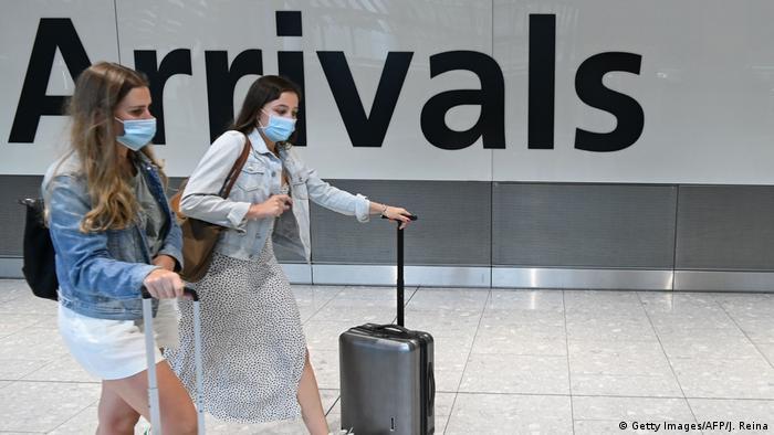 Μ. Βρετανία: Καραντίνα για τουρίστες που επιστρέφουν από πορτοκαλί χώρες