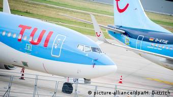 Самолеты компании TUI