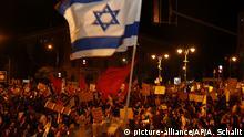 Israel I Proteste gegen Benjamin Netanyahu in Jerusalem