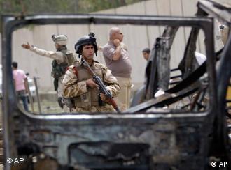 Anschlag in Bagdad, Foto: ap