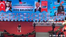 Türkei Ankara   CHP-Parteitag   Türkische Oppositionspartei