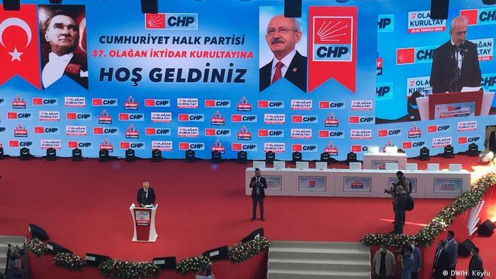 Türkei Ankara | CHP-Parteitag | Türkische Oppositionspartei (DW/H. Köylü )