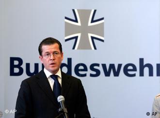 Defense Minister Guttenberg