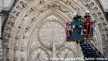 Frankreich Großbrand Kathedrale von Nantes