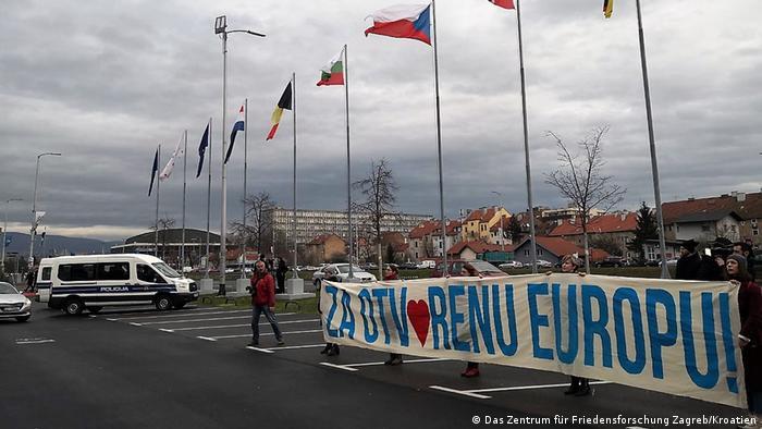 Kroatien Zagreb | Flüchtlinge | Friedensaktivisten in Kroatien