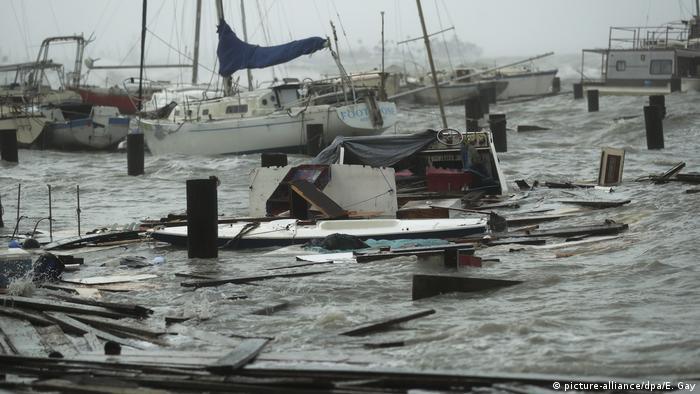 USA Corpus Christi | Hurrikan Hanna | Bundesstaat Texas (picture-alliance/dpa/E. Gay)