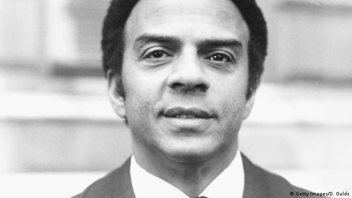 Portrait of politician Andrew Young