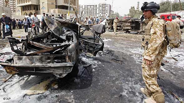 Anschläge in Bagdad, Foto: ap
