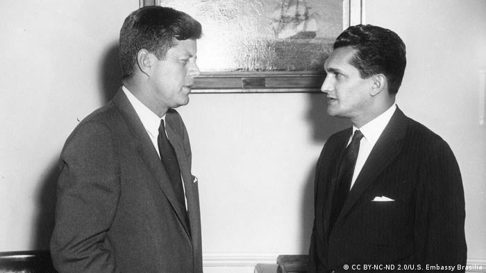 Em 1961, Celso Furtado foi a Washington para encontro com o então presidente dos EUA, John Kennedy