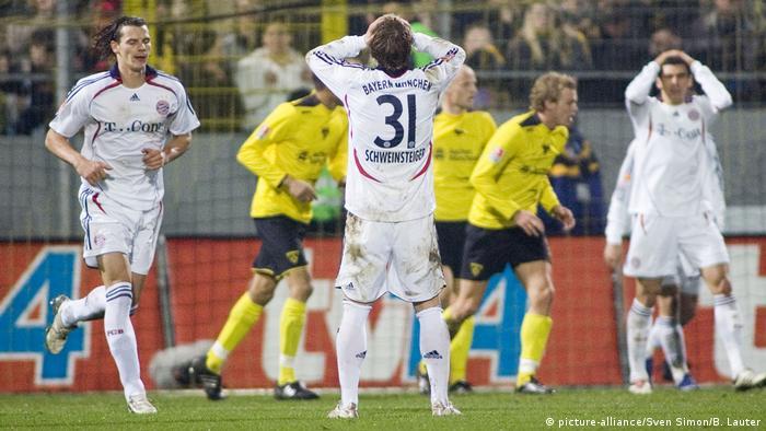 DFB-Pokal 2006 |Alemannia Aachen - FC Bayern München (picture-alliance/Sven Simon/B. Lauter)