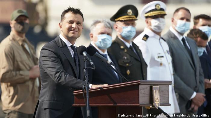 Ukraine Kiew   Wolodymyr Selenskyj, Präsident