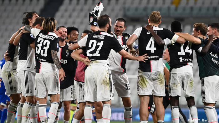 Italien Serie A   Fußball-Meisterschaft von Juventus Turin