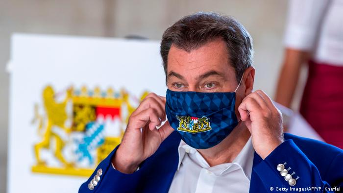 Deutschland Markus Söder (Getty Images/AFP/P. Kneffel)