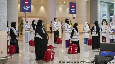 Corornavirus | Saudi-Arabien Mekka vor der Hadsch (picture-alliance/AP/Saudi Ministry of Media)