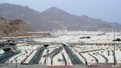 Corornavirus | Saudi-Arabien Mekka vor der Hadsch (AFP)
