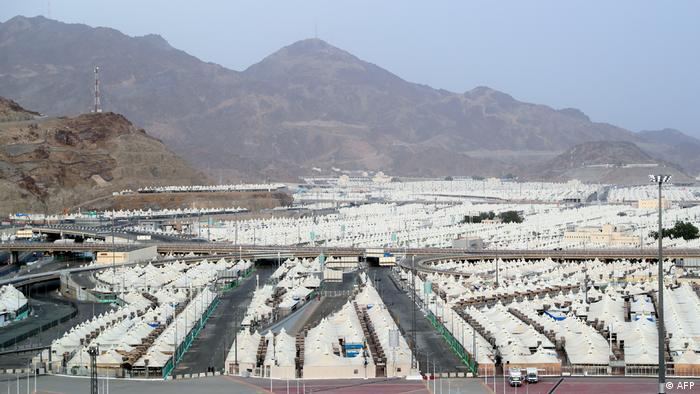 Corornavirus | Saudi-Arabien Mekka vor der Hadsch